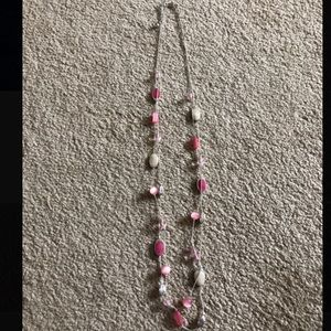 Necklace- pink